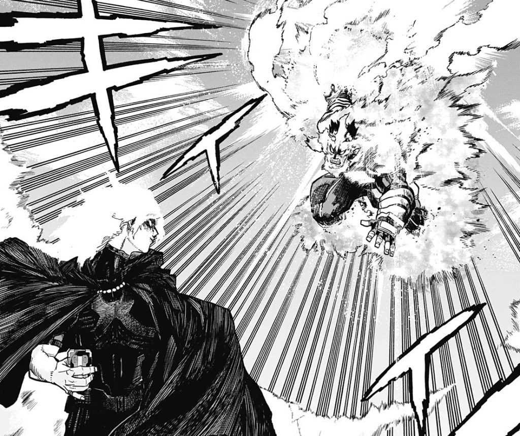 Tomura Shigaraki and Endeavor prepare to clash