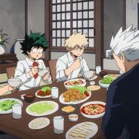 My Hero Academia Season 5 Episode 17: Dinner with the Todoroki's