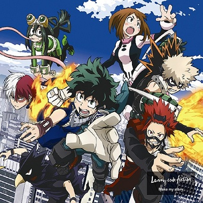 Boku no Hero Academia 3rd Season OP2 Single - Make my story