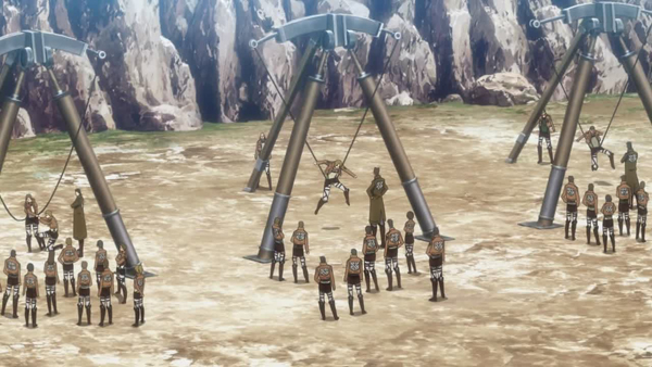 Image result for attack on titan training