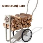 ファイヤーサイドのウッズマンカートは薪を運ぶのに超便利!