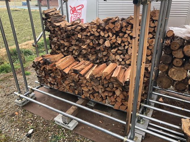 【薪販売】雑木薪、なくなりました。
