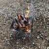 焚火&薪割りが朝のスタンダードになるか