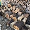 【土場の整理】デカイのも含め、雑木の玉切りを移動する。
