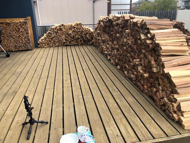【とりあえず】針葉樹全部割りました!