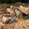 山師の雑木を買って、山川薪店の玉切りアタッチメントを試してみた!