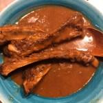 【カレー】バーベキューの時に食べ残したスペアリブは基本カレーになりました。