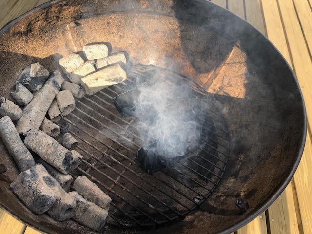 【焚き火のついでに】初めて燻製をやってみた その2