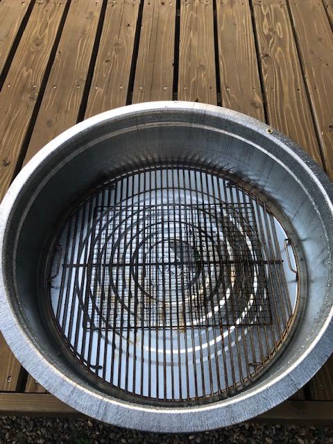 【漬け置き洗い】バーベキュー用の網を洗う