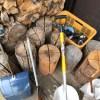 【木こりのロウソク】十分乾燥したスウェディッシュトーチあります。