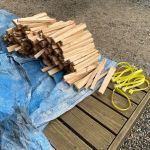【薪束】針葉樹の薪束を作る