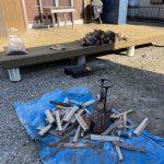 【薪割り】焚き火、アウトドアストーブ用の薪割り