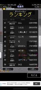 【岐阜クエスト攻略】50位以内突入