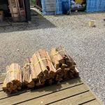 【薪束】広葉樹の束を作る