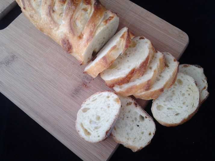 baguette bread for bruschetta