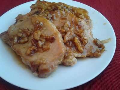 honey pecan pork chops 1