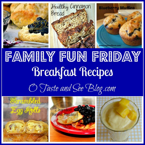 breakfast recipes family fun friday