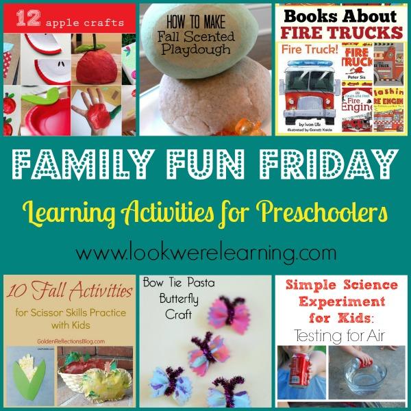 Learning Activities for Preschoolers