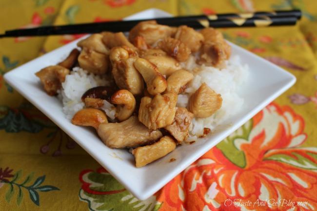 teriyaki cashew chicken 157