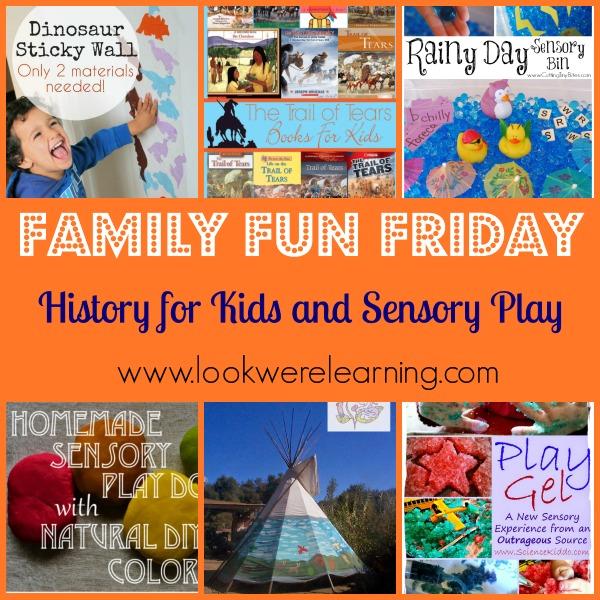History for Kids and Sensory Play