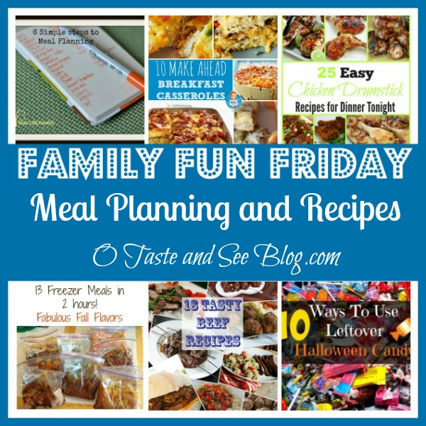 Meal Planning and Recipes
