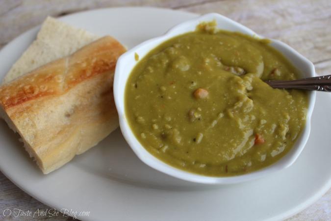 split peas soup