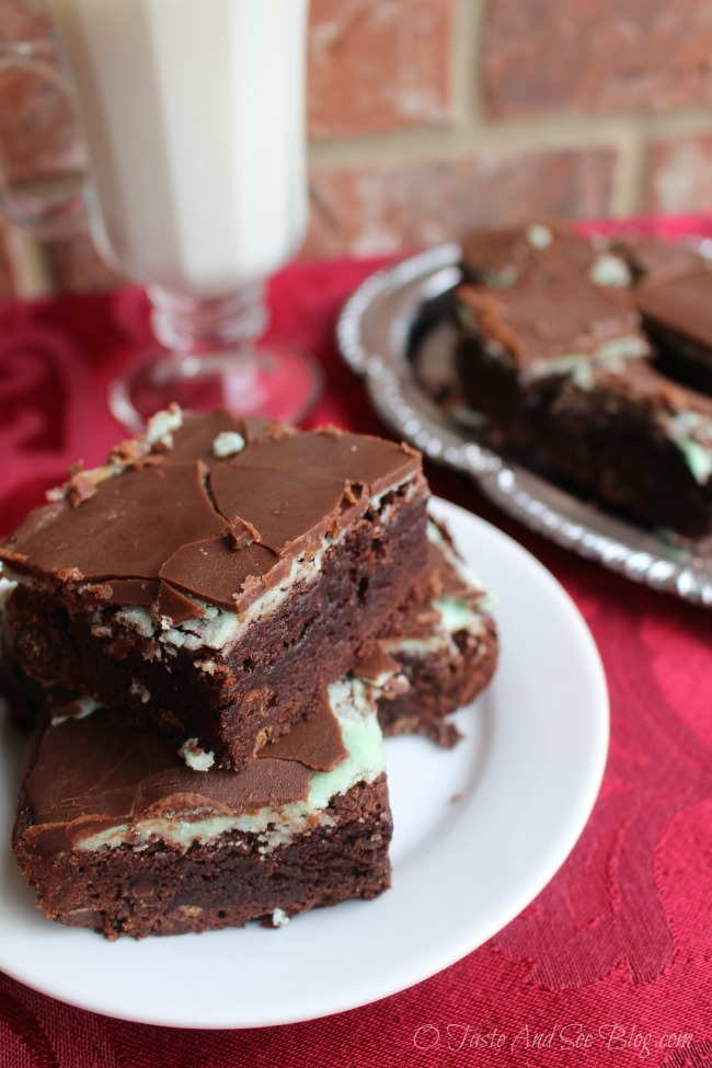 chocolate mint brownies National Chocolate Mint Day