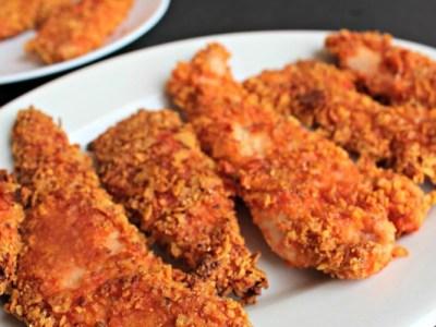 Zesty Salsa Chicken Fingers