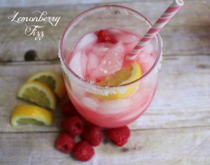 Lemon Berry Fizz #FireUpTheGrill #ad