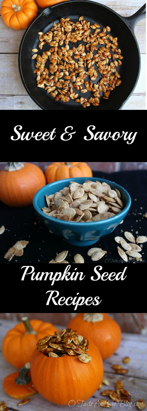 Sweet and Savory Pumpkin Seed REcipes