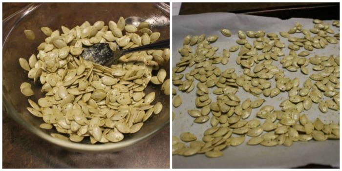 Traditional pumpkin seeds