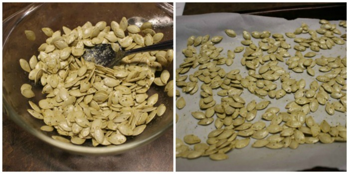 Traditional pumpkin seeds