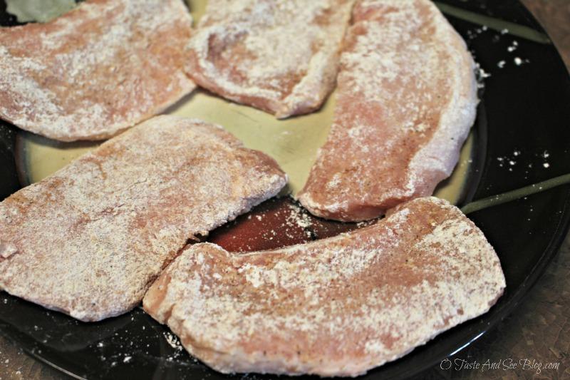 Cranberry Apple Cider Pork Chops #ad ##SmithfieldPork