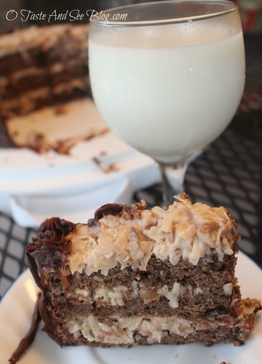 Sugar Free German Chocolate Cake
