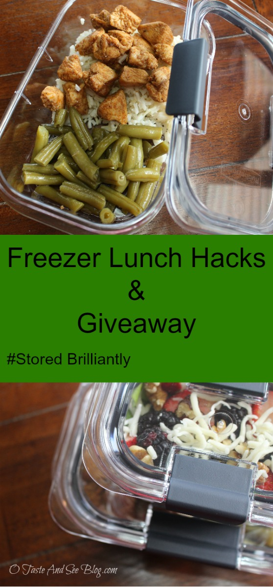 Freezer Lunch Hacks #StoredBrillaintly #ad