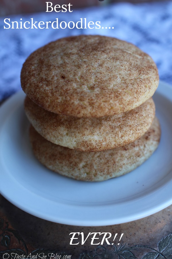 Best Snickerdoodles Ever