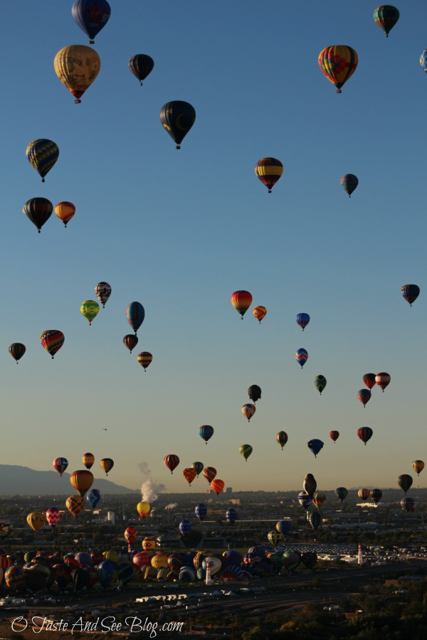 Hot Air Balloon Ride Bucket List