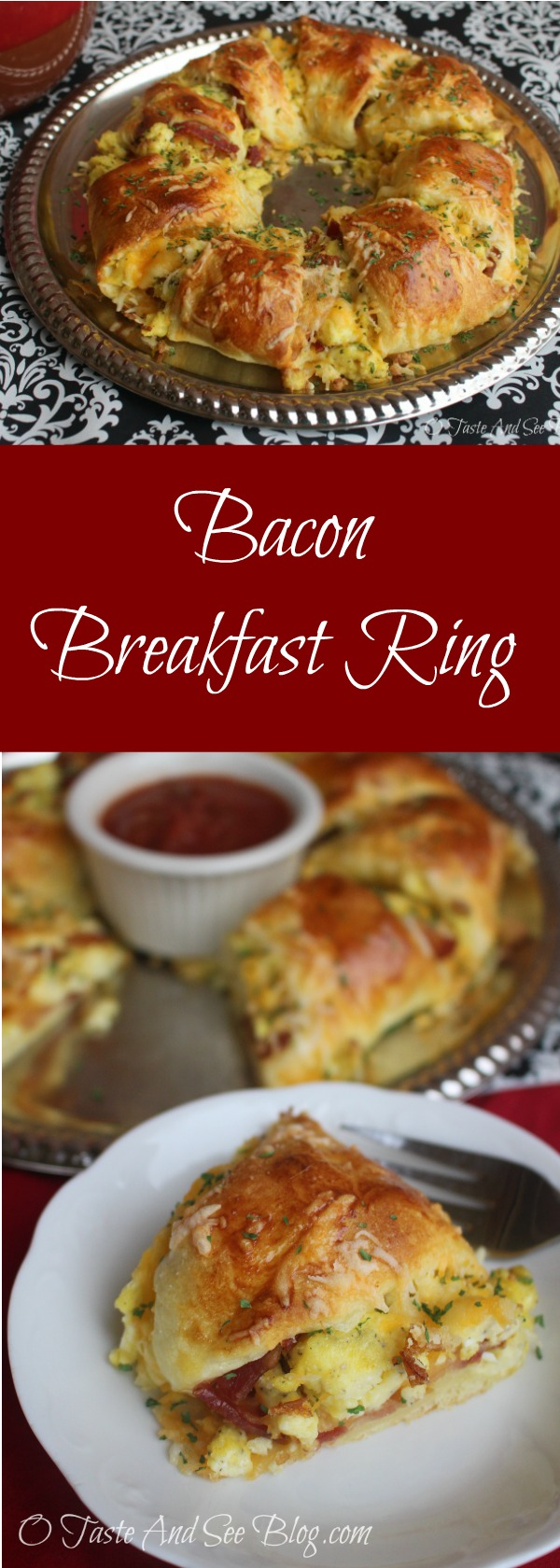 Bacon Breakfast Ring #ad #MadeWithLove #HEB