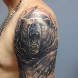 Медведь в цепи