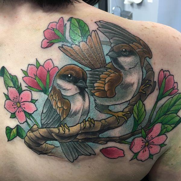 Bedeutung freiheit tattoo Schwalbe