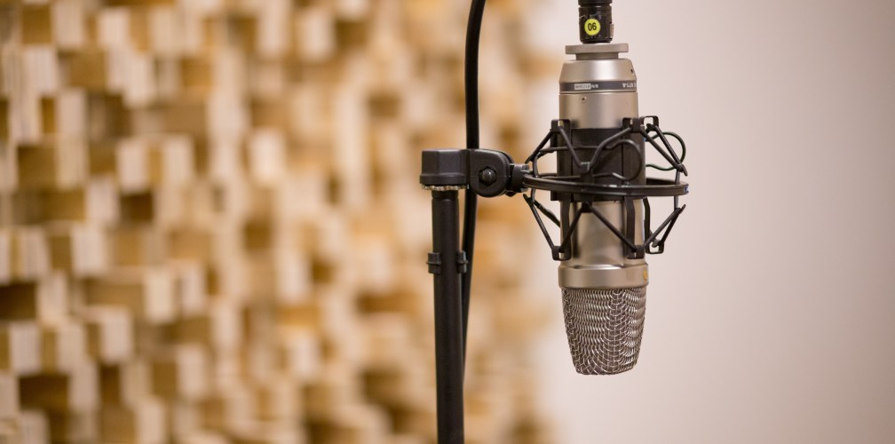 Canva - Microphone In Music Studio