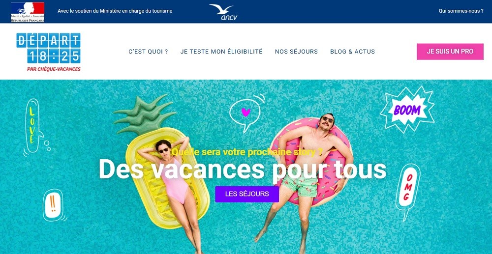 Tourisme : l'ANCV veut aider les moins de 25 ans à partir cet été