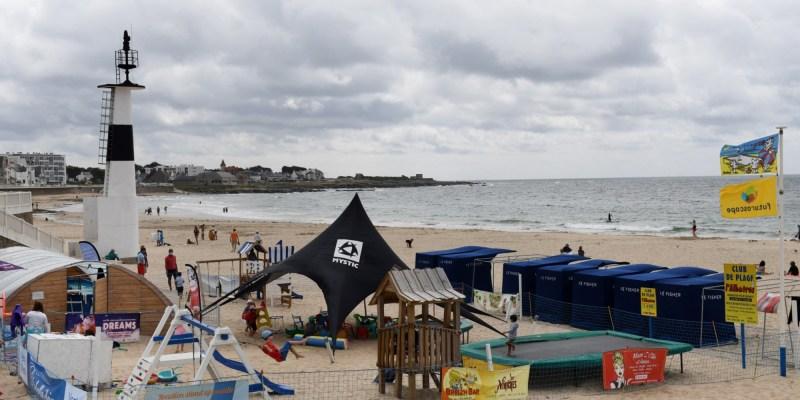 C est sauvage c est naturel pour cet ete de nombreux vacanciers ont choisi la Bretagne