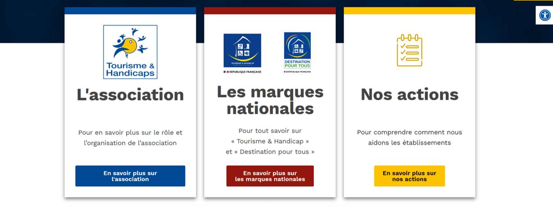 Le site Internet de lAssociation Tourisme et Handicaps fait peau neuve