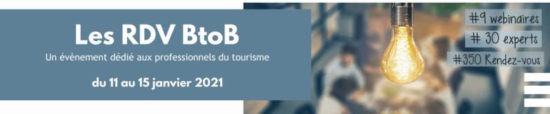 Rendez-vous BtoB - Site Pro Tourisme Bretagne