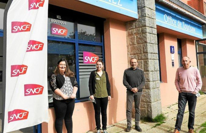 Une nouvelle organisation sur les rails à la boutique SNCF