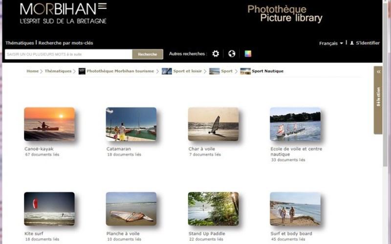 Une nouvelle photothèque partagée : ADT Morbihan