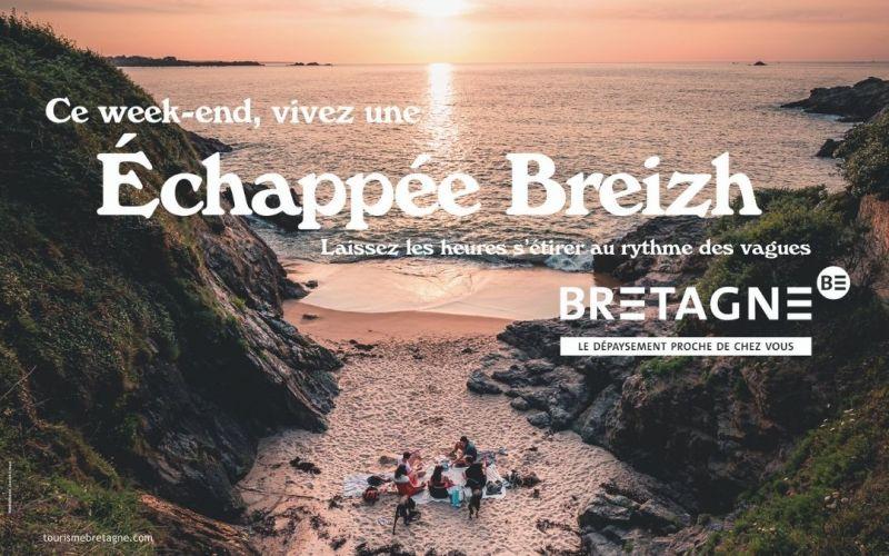 La campagne Dépaysez-vous en Bretagne s'enrichit de nouveaux visuels