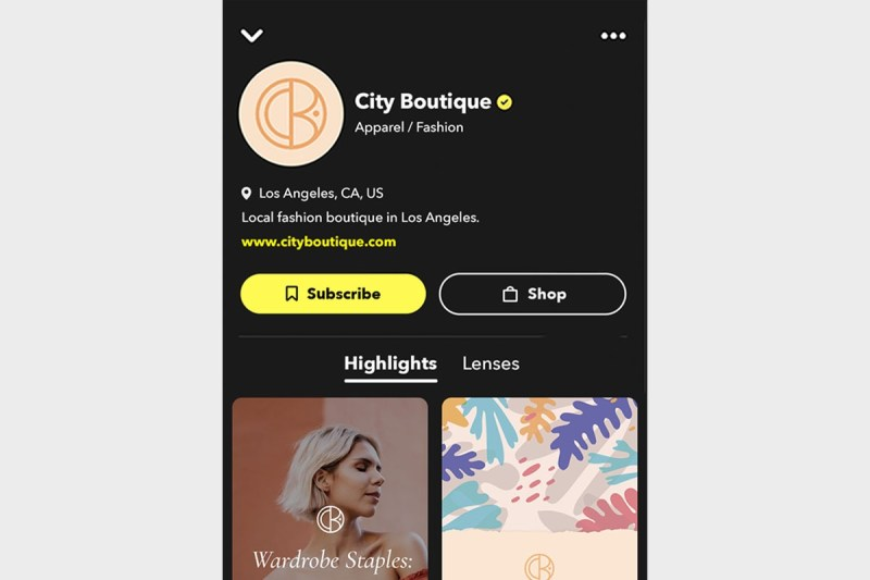 snapchat profils publics 2021