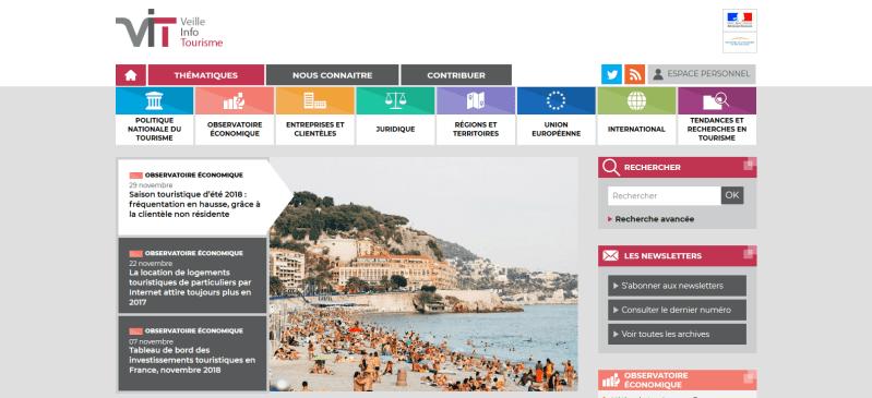 veille info tourisme